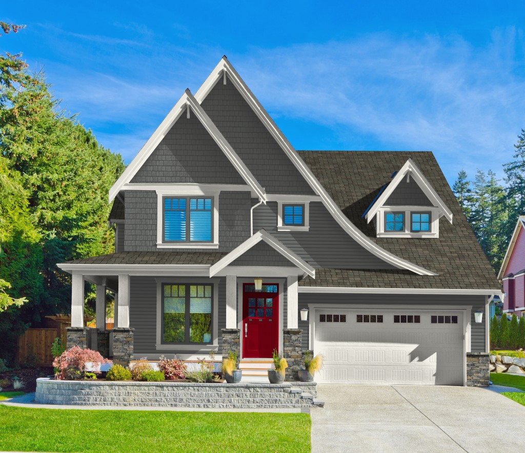 Color-Contrasting for the Best Curb-Side Appeal