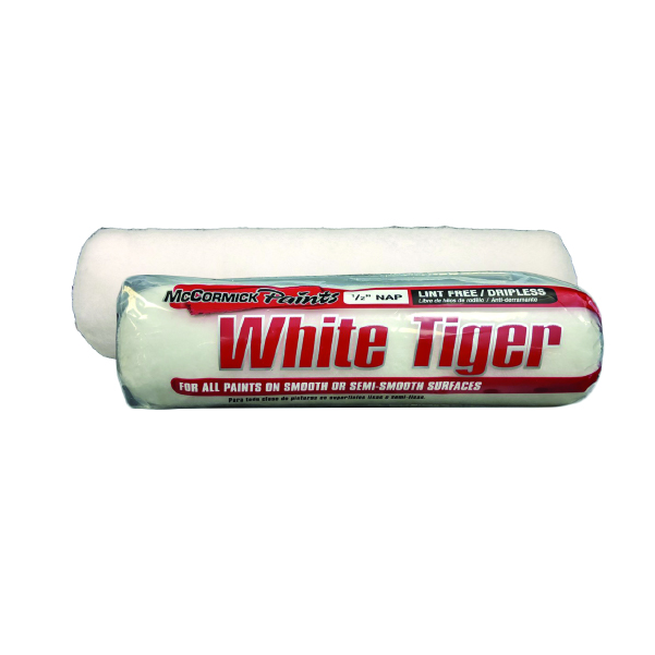 White Tiger Roller Cover