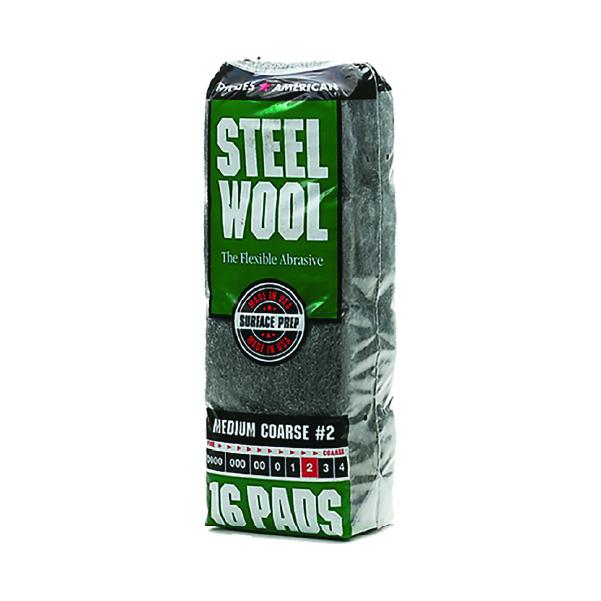 Steel Wool Pads (16 Pack)