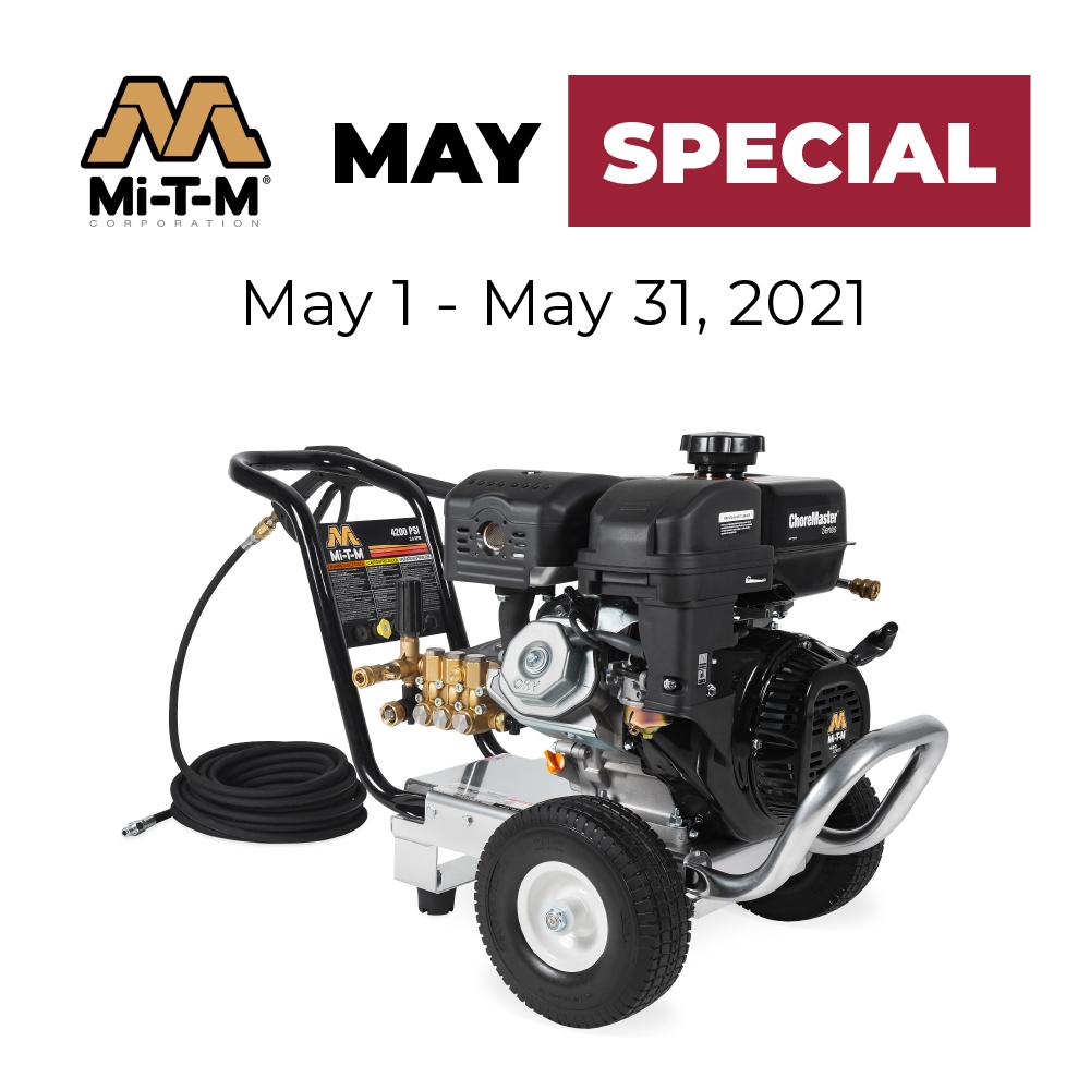 Mi-T-M Power Washer Sale